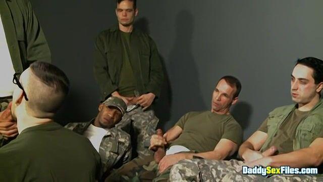 Military Cum Sucking Party - Part 1 [Josh Stone, Tony Dazzle Sucking Orgy]